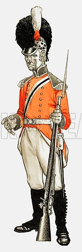92nd. Hon Artillery Co Infantry Div. Private 1803.