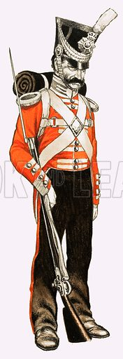 96th Foot Private 1836.