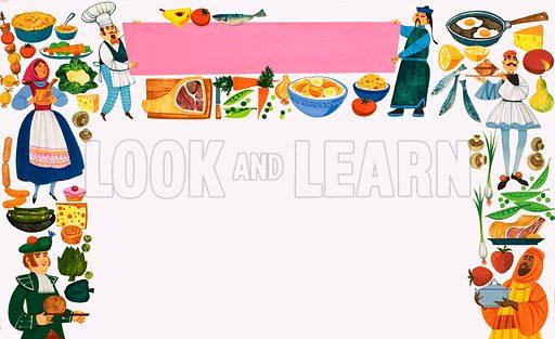 Food around the world.