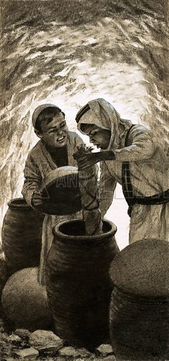 Discovery of the Dead Sea Scrolls.
