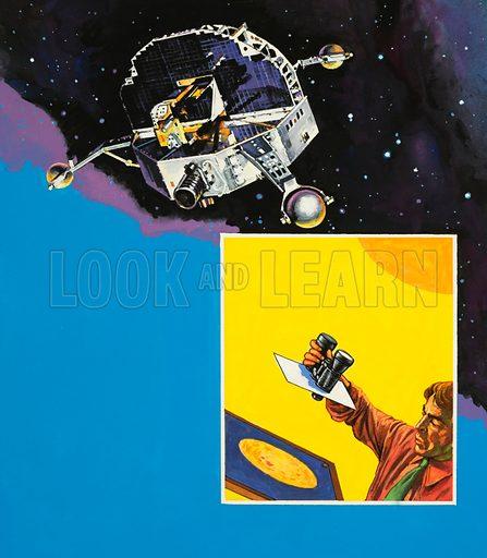 Space satellite.