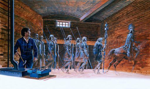 Phantom Roman soldiers.