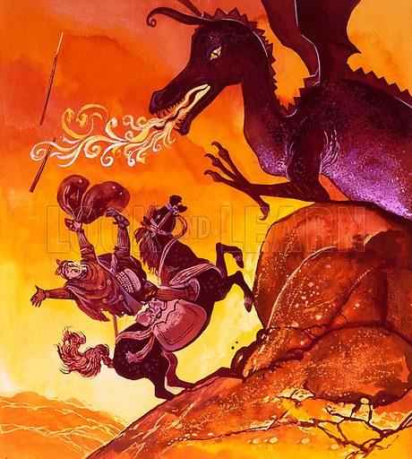 Drogon. Original artwork for Once Upon a Time.