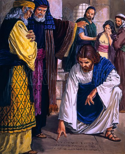 Christ in the Temple.