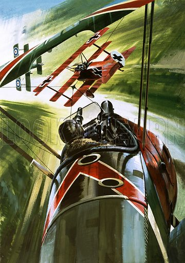 The Fokker Dr 1 – The Red Baron.