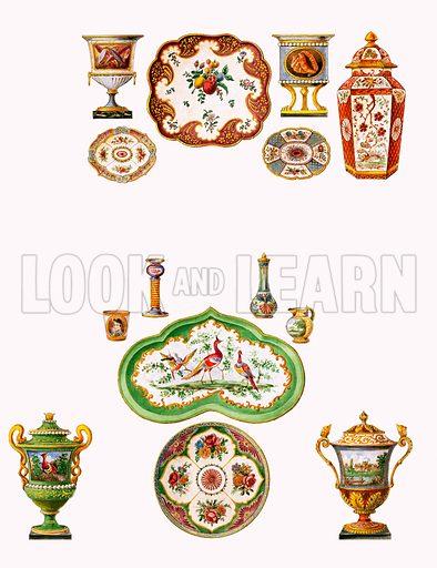 Worcester porcelain.