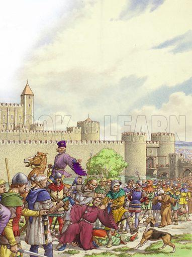 Peasant's Revolt, picture, image, illustration