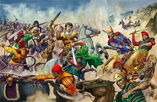 Alexander the Great at the Battle of Issus