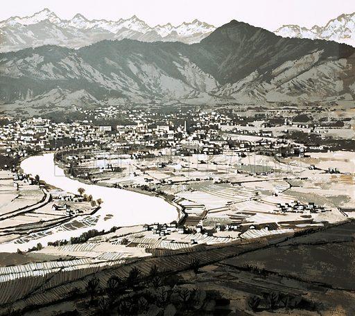 Kathmandu, picture, image, illustration