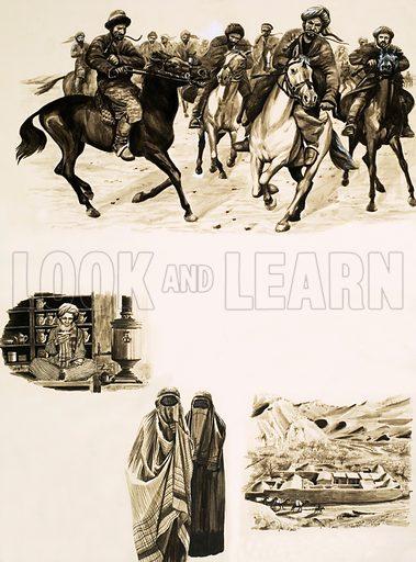 Afghanistan, picture, image, illustration