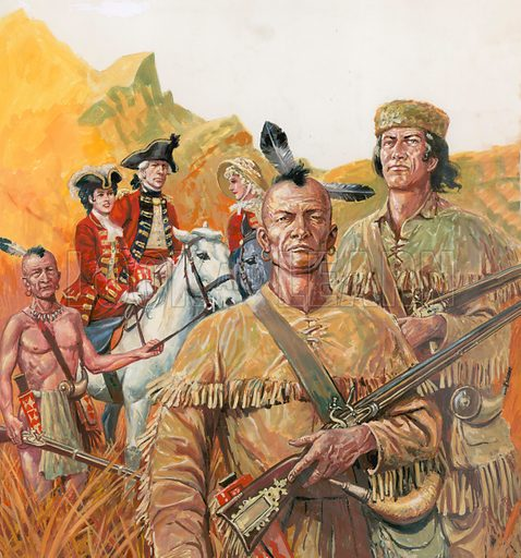 Mohicans, picture, image, illustration