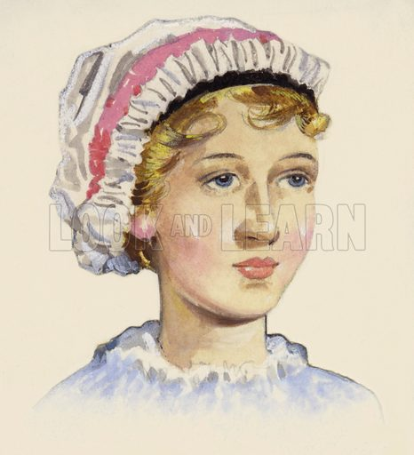 Jane Austen, picture, image, illustration