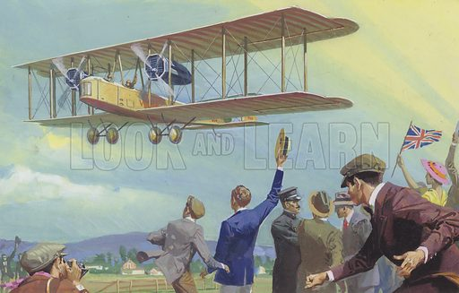 John William Alcock and Arthur Whitten Brown who flew across the Atlantic