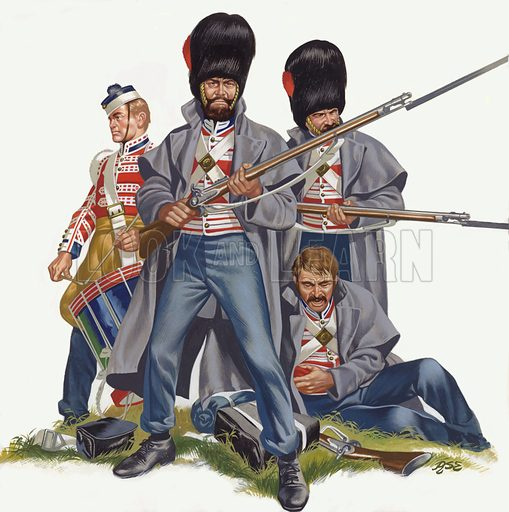 The British Army, The Battle of Inkerman, 1854.