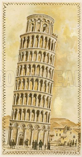 picture, The Leaning Tower of Pisa