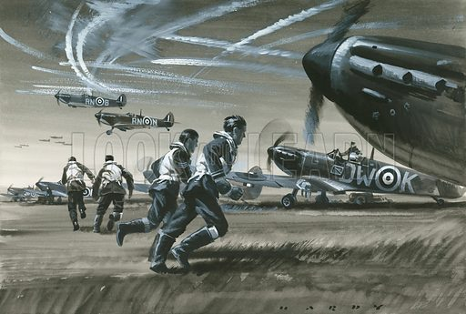 Battle of Britain, picture, image, illustration