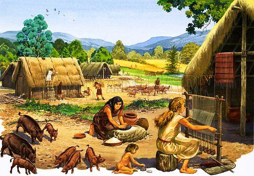 Neolithic settlement.