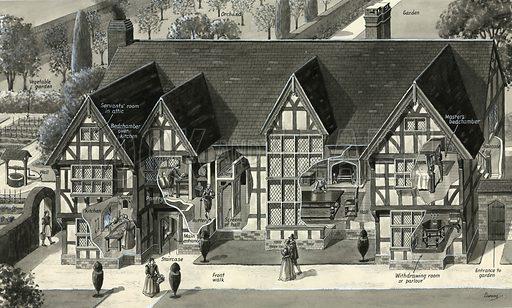 Tudor house.