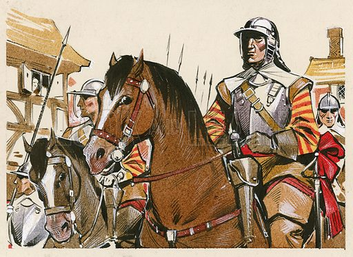 Roundhead soldiers.