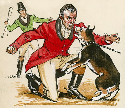 Jack Mytton, once MP for Shrewsbury, who is reputed to have quietened a savage dog by growling back at it.
