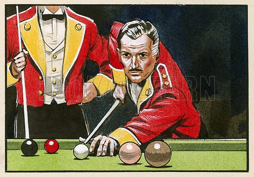 Guardsmen playing billiards