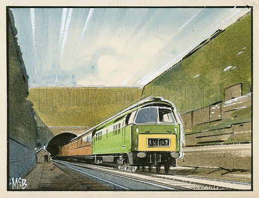 Railway tunnel under the Severn.