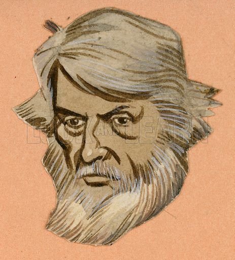 Thomas Carlyle, picture, image, illustration