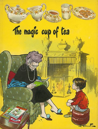 The magic cup of tea.