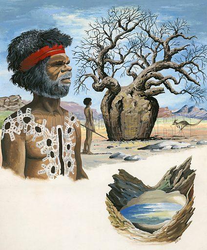 Australian aborigine.