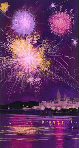 Fireworks in Malta.