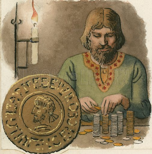 Early English coins were subject to clipping.