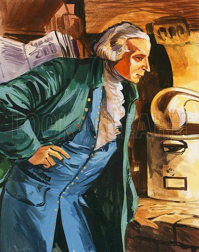 Antoine Lavoisier, discoverer of oxygen.