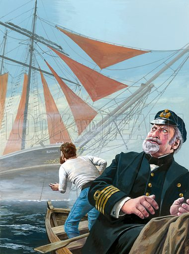 The Bermuda Triangle mystery, started in 1840 by the French ship Rosalie, found with sails set and cargo intact, but without a single sailor on board.