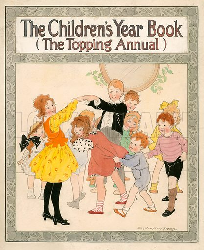 Cover for The Children's Year Book.