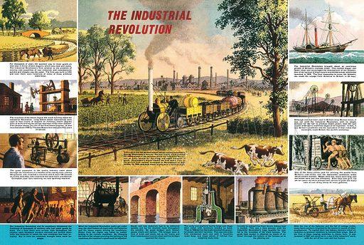 The Industrial Revolution.