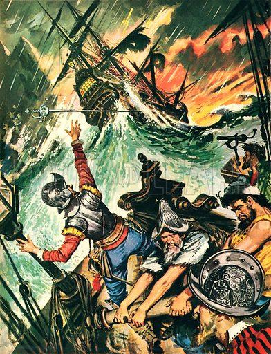 Vengeance on the High Seas.
