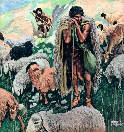 Who's who in the Bible: Abel. Abel was a son of Adam and Eve. He was a shepherd. He had a brother called Cain who killed him, fleeing home never to return.