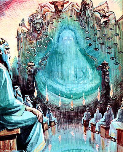 Saint John's Vision of Heaven from The Revelation of St John the Divine: 4.