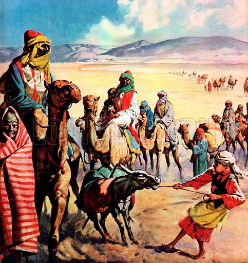The Travellers of Bible Lands.