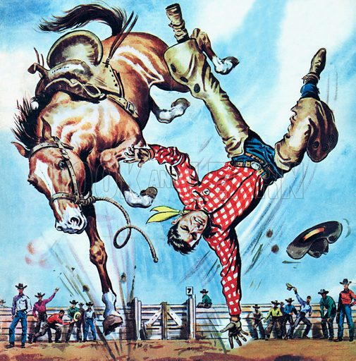 rodeo, picture, image, illustration