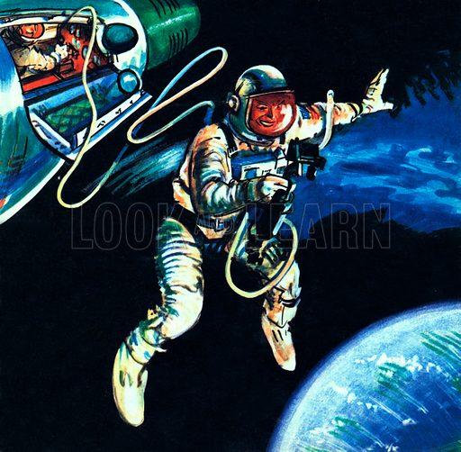 Walking in Space.