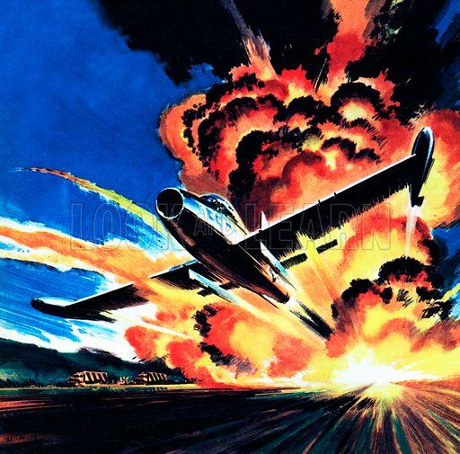 Flight through an Inferno.