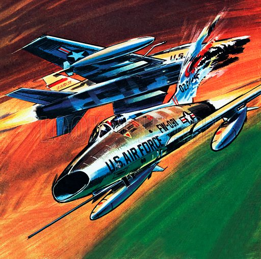 Jets in Collision at 700MPH.