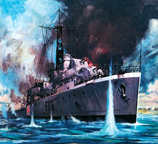 Famous Ships: HMS Amethyst Runs the Gauntlet. In 1949, HMS Amethyst came under fire from Chinese Communist forces as she took supplies up the Yangtse River to the British Embassy at Nanking.