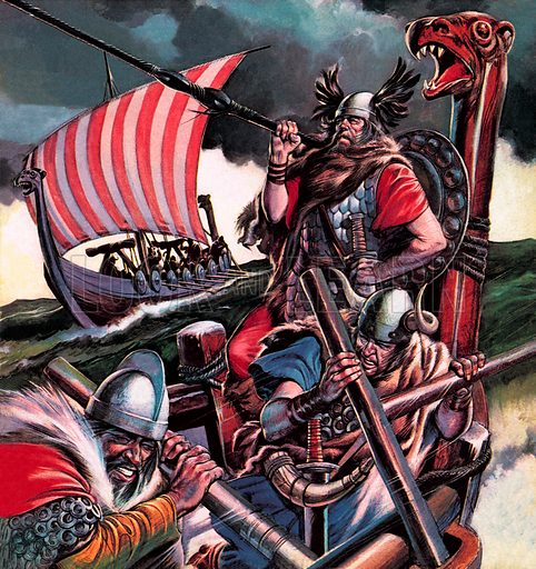 Leif Ericsson, Viking leader who sailed to North America, early 11th Century.