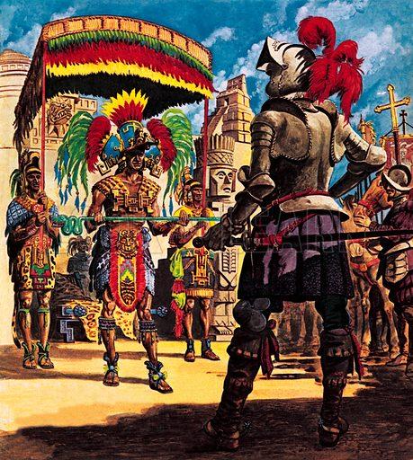 Hernando Cortes, Conqueror from Sunny Spain.
