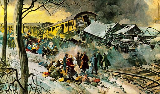 Russian railway disaster.