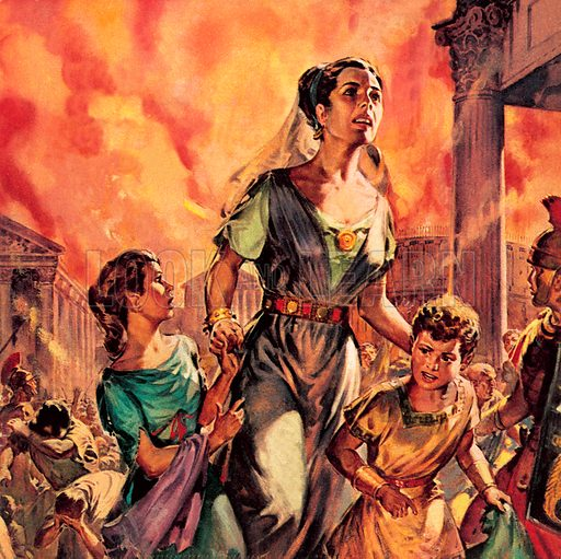 picture The Great Fire of Rome