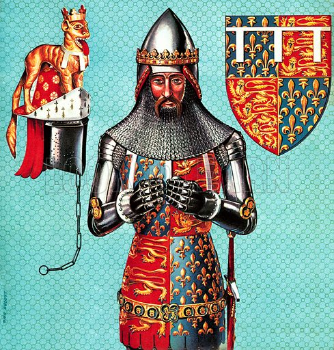 The Black Prince. This mysterious nobleman seems to be the epitome of chivalry and knightly valour in the Middle Ages … until you look a little more closely at his record.