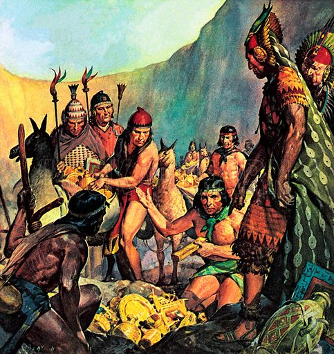 Hidden Gold of the Incas.
